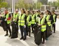 为城市保鲜,AICHAIN Plogging全国公益跑北京站鸣枪