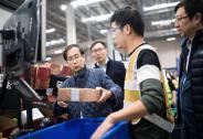 张勇赴快递公司查看配送情况:中国物流进入10亿时代