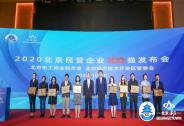 权威发布 神州控股位列2020北京民营企业科技创新百强第4